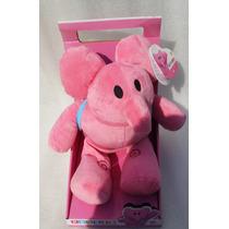 Pocoyo Elly Elefante Rosa Peluche Original Nuevo