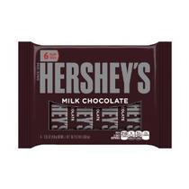 Leche Barras De Chocolate De Hershey 6-count Bares 1.55 Onza