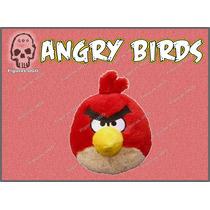 Red Bird Con Sonido Peluche Angry Birds Rovio Mobile Ugo