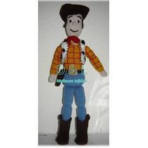 Muñeco Tejido Tipo Woody De Toy Story