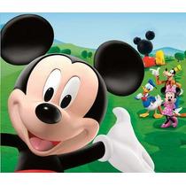 Kit Imprimible Mickey Mouse Candy Bar Invitaciones Cotillón