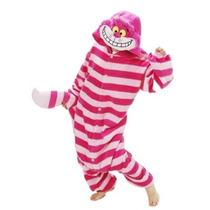 Superlieu Cheshire Cat Kigurumi Pijamas Anime Costume