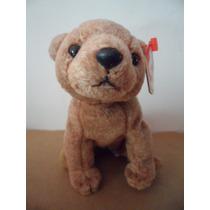 Peluche Ty Beanie Babies Oso Pecan Toy Souvenir Bear Osito