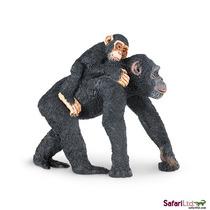 Juguete Chimpancé - Safari & Baby Miniatura Animal De La Fa