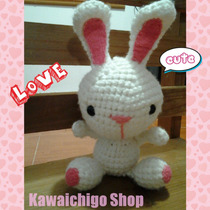 Conejo Amigurumi Love - Kawaichigo Shop