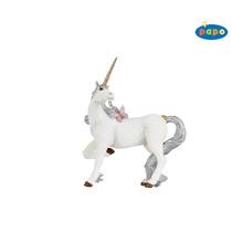 Unicornio Juguete - Papo Plata Mítico De La Fantasía Del C