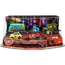 Disney / Pixar Cars Película Exclusivo Pvc Figurita Playset