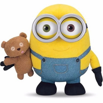 Minion Bob With Teddy Bear (peluche)