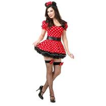 De La Mujer Charades Señorita Ratón Pin Up Costume Set