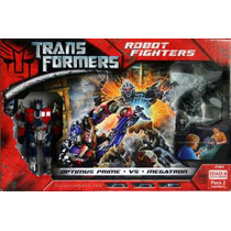 Transformer Robots Boxeadores Optimus Prime Vs Megatron
