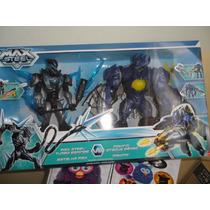 Muñecos Accion Max Steel & Makino Mattel