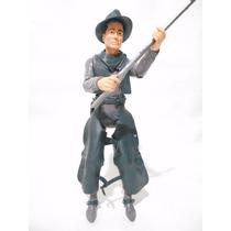 Figura De Accion Plastimarx Jhonny West No Gi Joe Vaquero