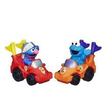 Sesame Street 2-pack Vehículos - Súper Grover Y Cookie Monst