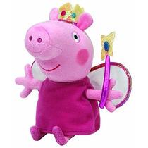 Muñeco De Peluche Ty Beanie Babies Princess Peppa