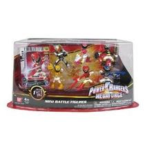 Figuras Power Rangers Megaforce Mini Battle-ready 6 Paquete