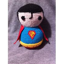 Superman Amigurumi Tejido Crochet