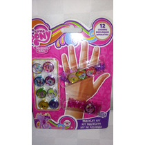 Kit De Pulseras My Little Pony! 12 Dijes, Importado