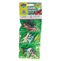 Animal De Juguete Figuras - Wild Republic Triple Mini Lizard