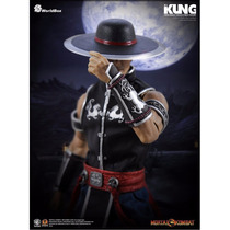 Kung Lao Mortal Kombat Hot Toys Dam 1/6 Dragon Did Medicom