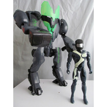 Mega Robot Custom Max Traje Max Steel