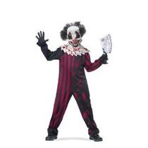 Disfraces California Killer Klown Niño Traje Medio