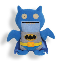Tb Peluche Uglydoll Dc Comics Blue Ice-bat As Batman