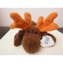 Peluche Ty Beanie Babies Alce Chocolate Souvenir Moose