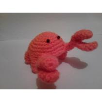 Cangrejito De Crochet, Cangrejo De Estambre