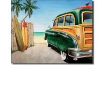 Muestra De La Playa De Woody Tablero De Resaca