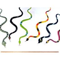 12 Caucho Selva Serpientes / 14 Figuras De La Selva Tropica