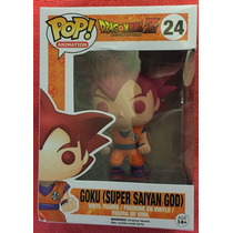 Tb Funko Pop! Anime: Dragonball Z Super Saiyan God Goku