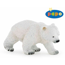 Oso Polar Juguete - Ruta Cub Figura Wild Animal Fantasía