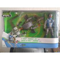Max Steel N-tek Turbo Jet Despliega Alas Y Lanza Misiles!!