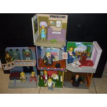 Lote Simpsons Playmates Bart Alcalde Diamante Lisa Coleccion