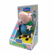 Peppa Pig George Peluche Musical!