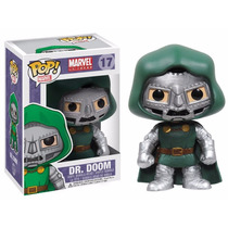 Tb Muñeco Funko Pop Marvel Bobble Dr. Doom