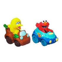 Sesame Street 2-pack Vehículos - Elmo Y Big Bird