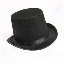 Negro Fieltro Sombrero De Copa