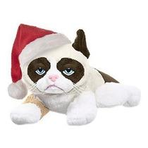 Gato Gruñón Con Sombrero De Santa - Colocación De 8 Pulgadas