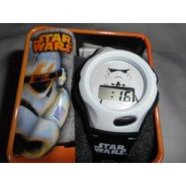 Genuino Star Wars Lucas Trooper Adulto Reloj! Navidad