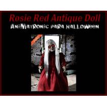Animatronic De Muñeca Antigua Para Halloween Importada De Eu