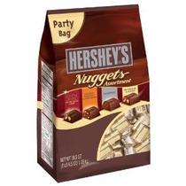 Nuggets Chocolates Surtido Bolsa De 38.5 Onzas De Hershey