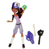 Monster High Ghoul Deportes Clawdeen Lobo Doll