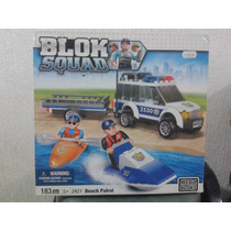 Mega Bloks Blok Squad Patrulla De Playa 183 Pzas Nuevo
