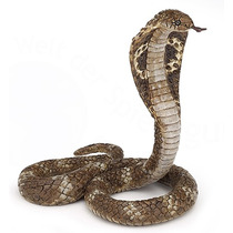 Cobra Serpiente Juguete - Figura Rey De Animales Salvajes Fa