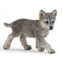 Lobo Cub Juguete - Acción Wild Animal Fantasía Figura Modelo