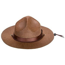Adultos Mountie Guardabosques O Sargento Sombrero De Brown