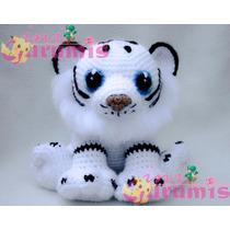 Tigre Blanco, Peluche, Amigurumi Amigurumis Crochet Tejido