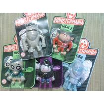 Colección Monstruos Monstermania Set 5 Figuras