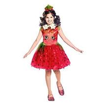 Disfraz Shopkins Strawberry Classic Costume Medio / 7-8 Un C
